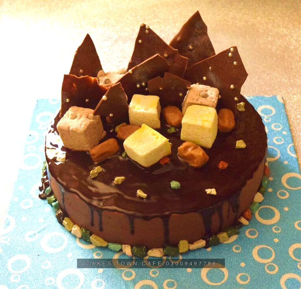 Chocolate Birthday Cake 9