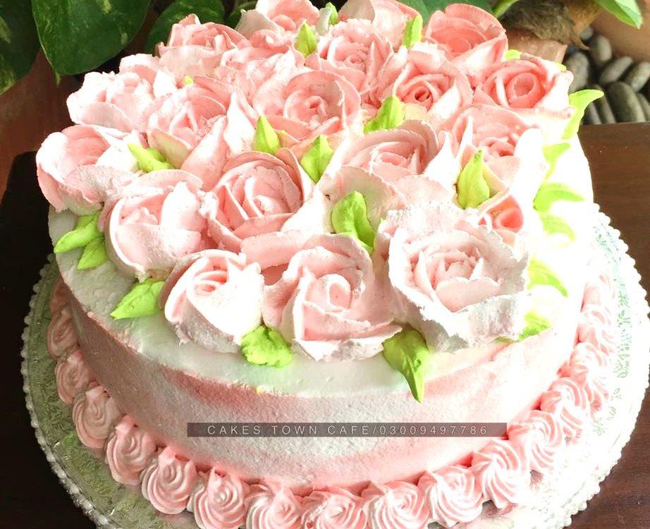 Cream Birthday Cake 15 0