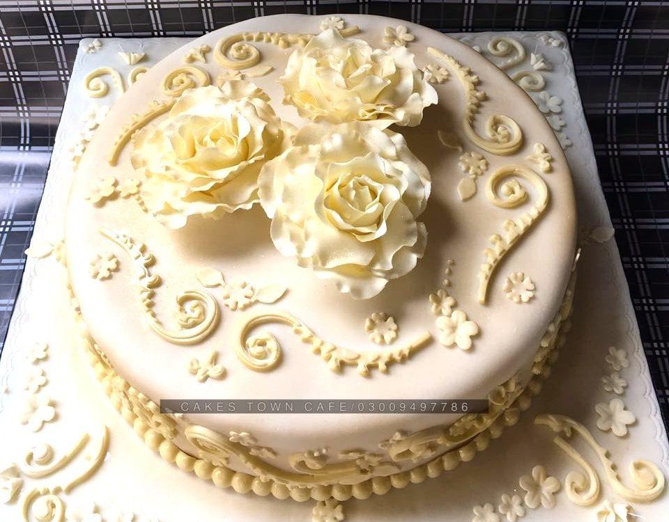 Floral Birthday Cake 10 0