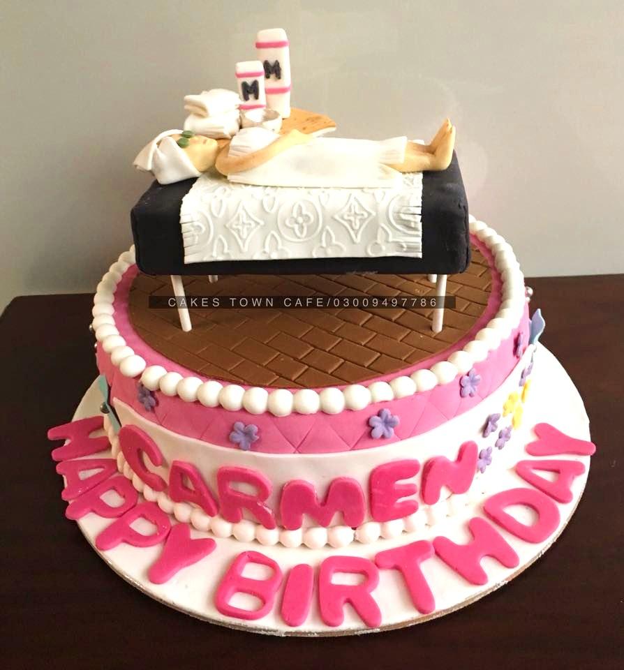 Spa Cake 1
