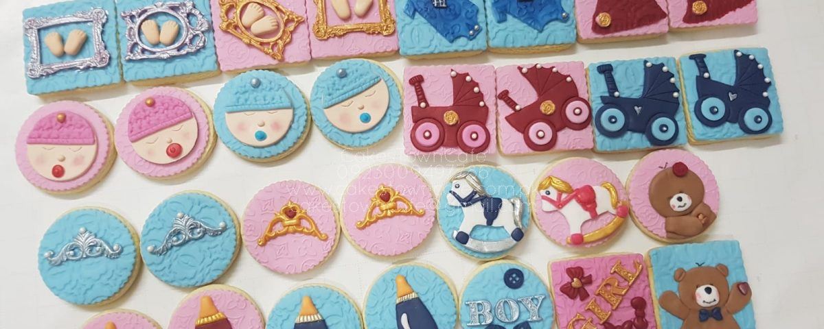Fondant Decorative Cookies 2