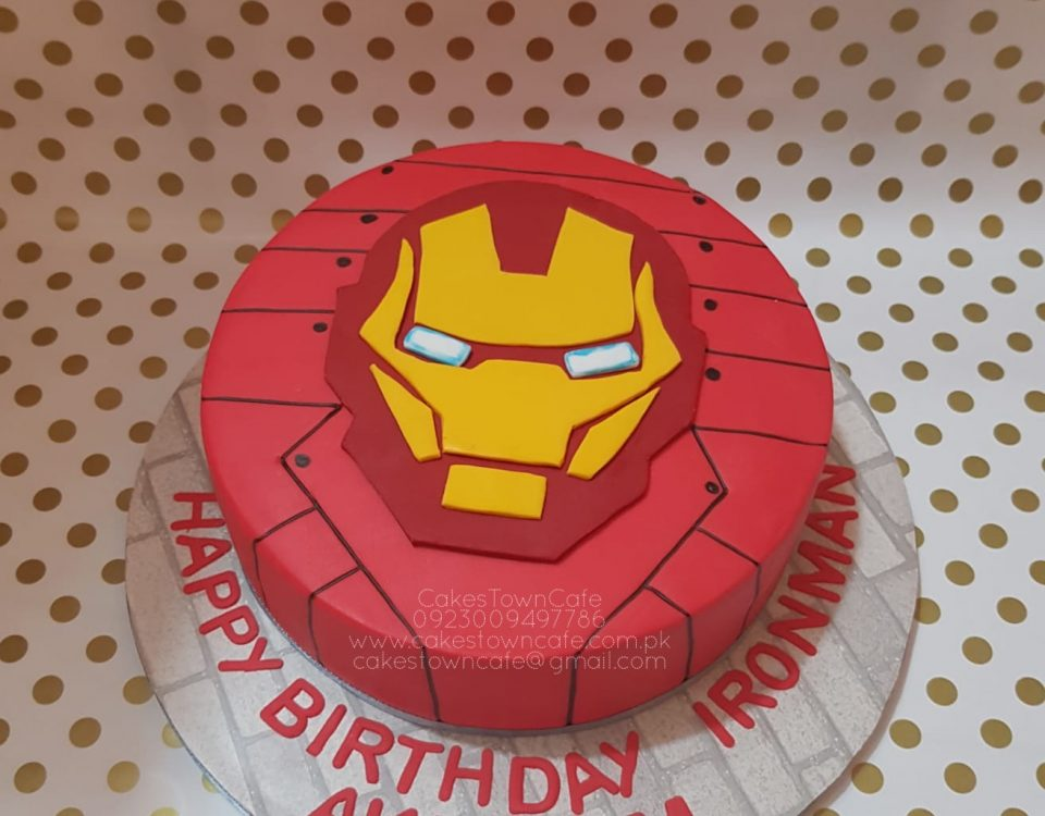 Ironman Birthday Cake 1