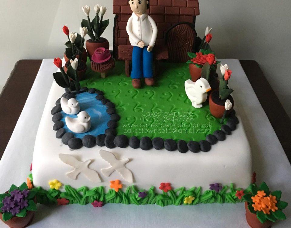 Form House Cake