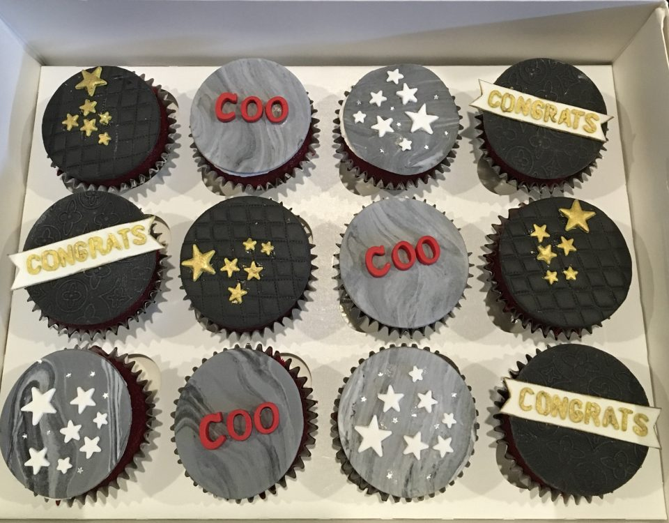 Congratulations Cupcakes 1