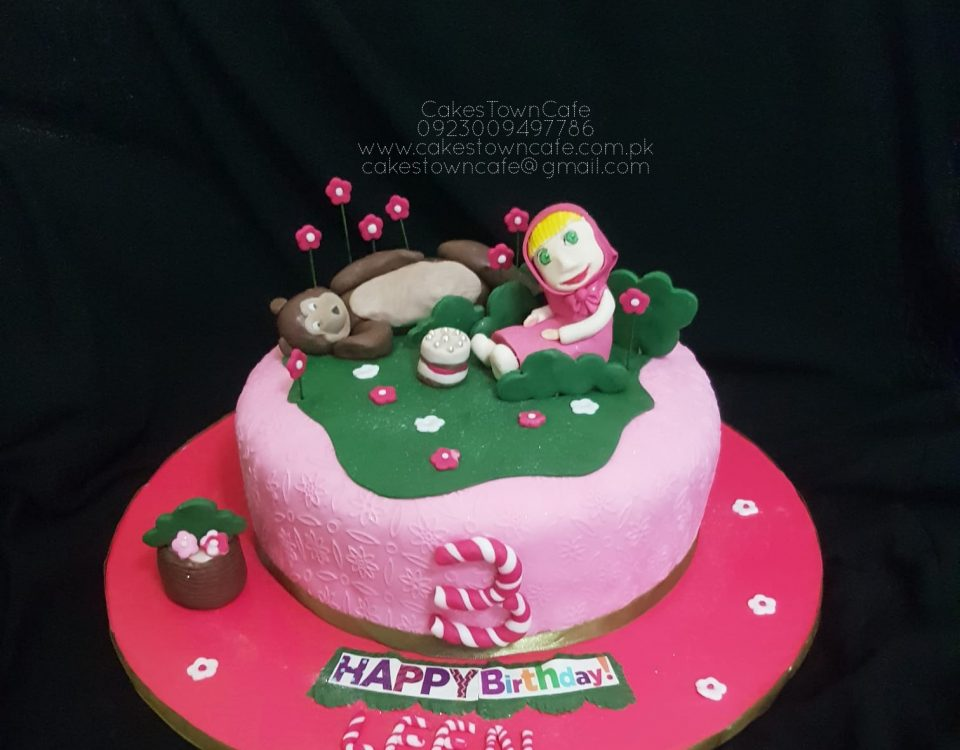 Masha And The Bear Cake 1