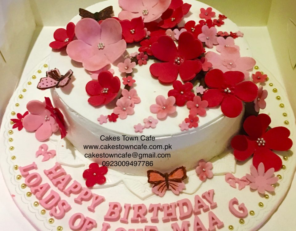 Floral Birthday Cake 14
