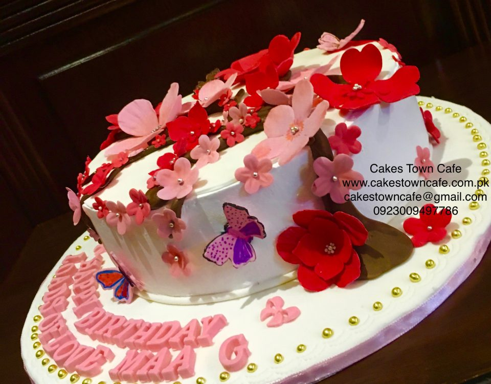 Floral Birthday Cake 16