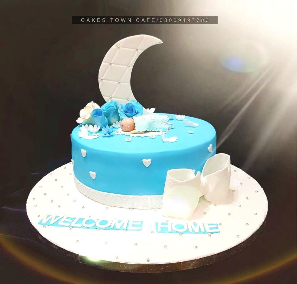 Baby Shower Cake 8