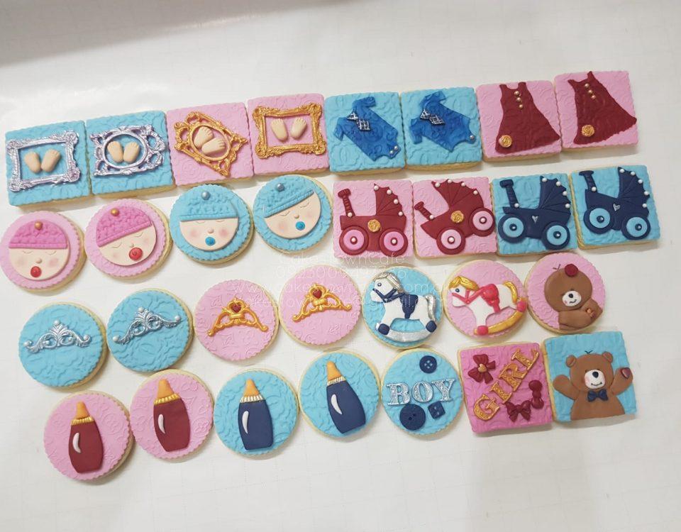 Fondant Decorative Cookies 2