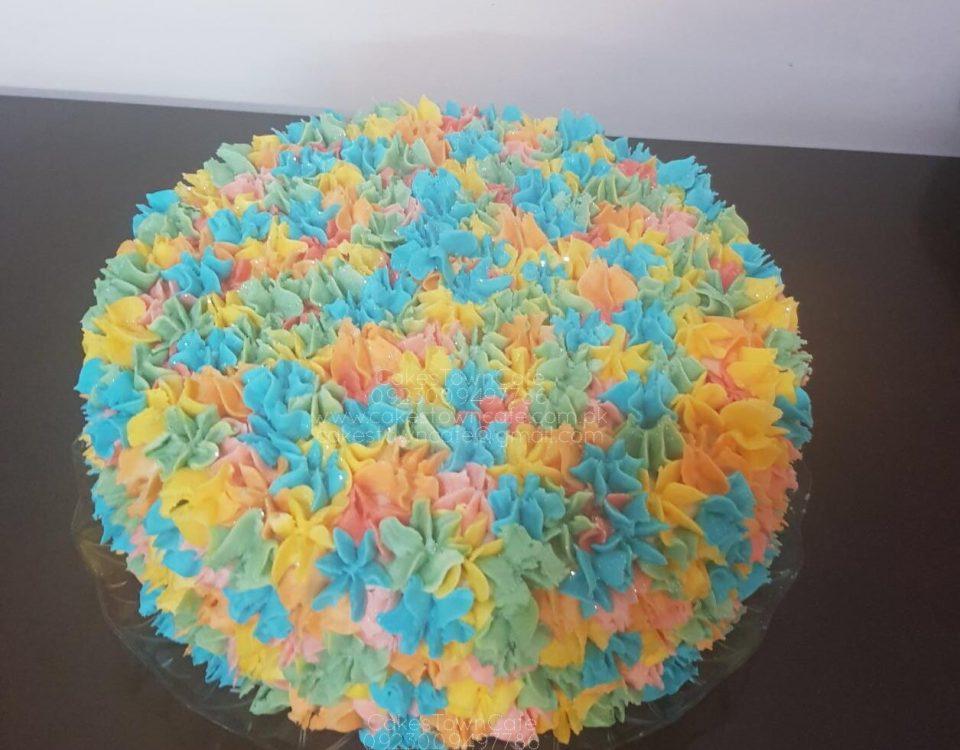 Cream Birthday Cake 24