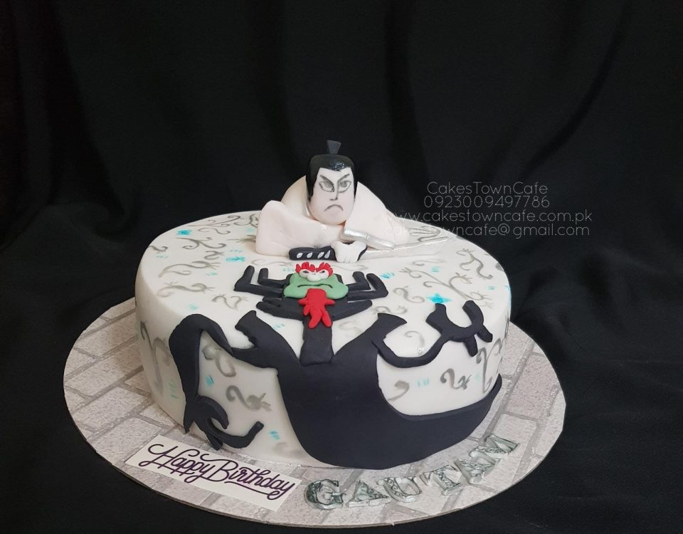 Samurai Birthday Cake 1