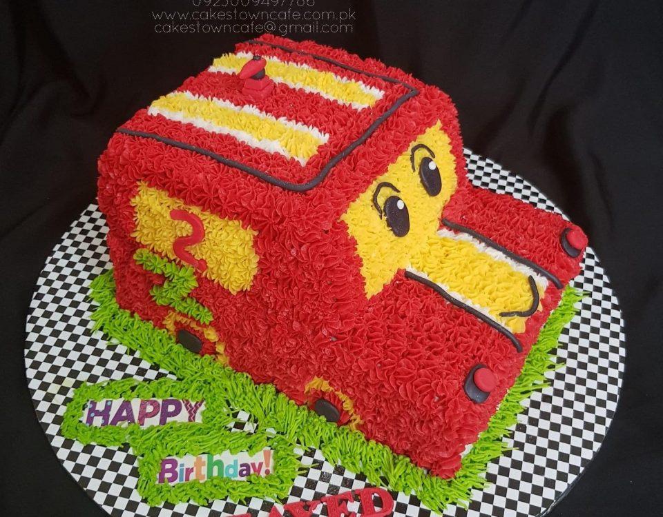 Cream Birthday Cake 29
