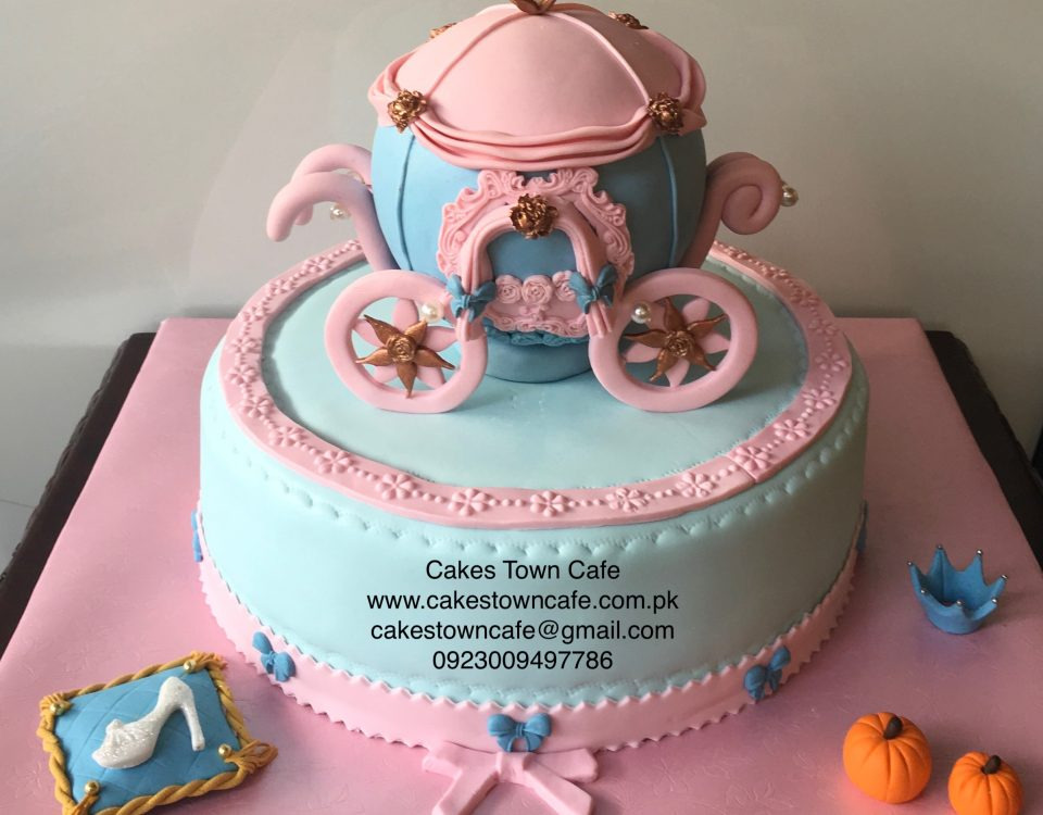 Cinderella Carriage Cake 1