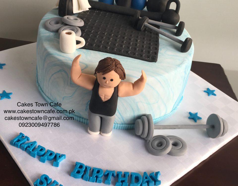 Gym Cake2
