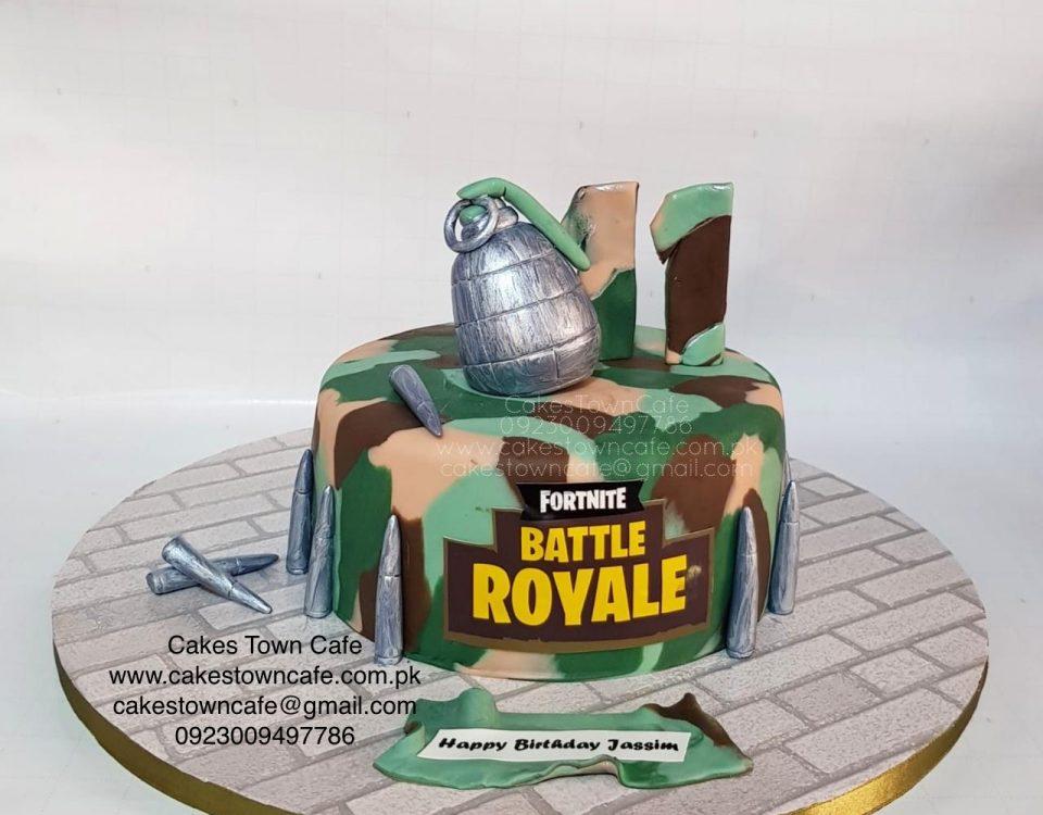 Fortnite Cake 2