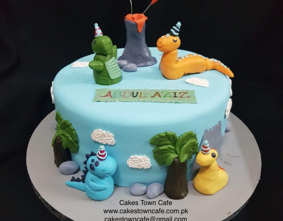Dinosaur Cake 3