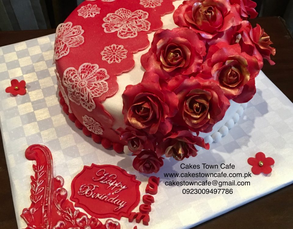 For Her Floral Cake 3