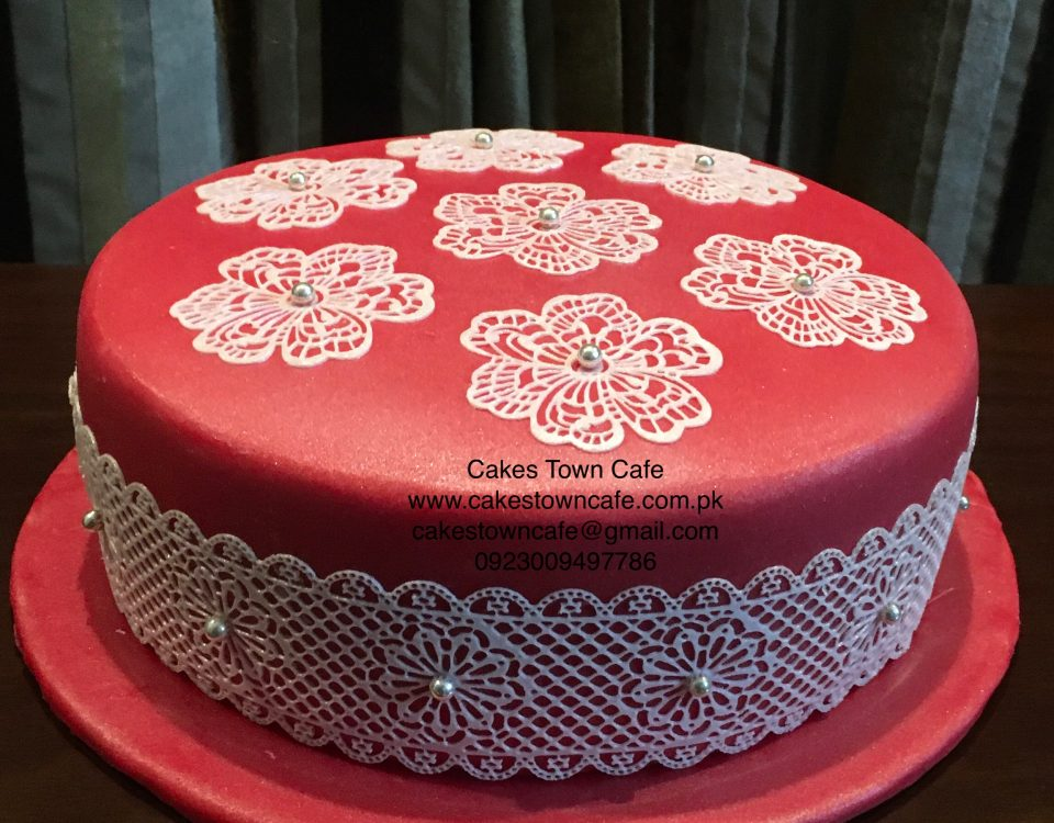 Edible Lace Cake