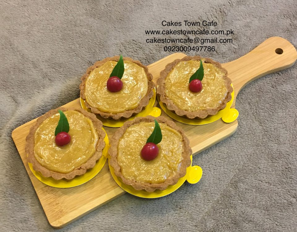 Caramelised Lemon Tarts