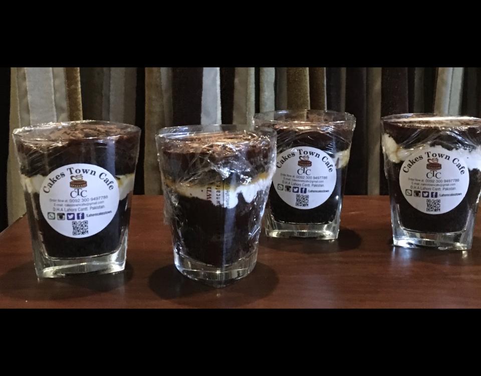 Chocolate Fudge Parfait