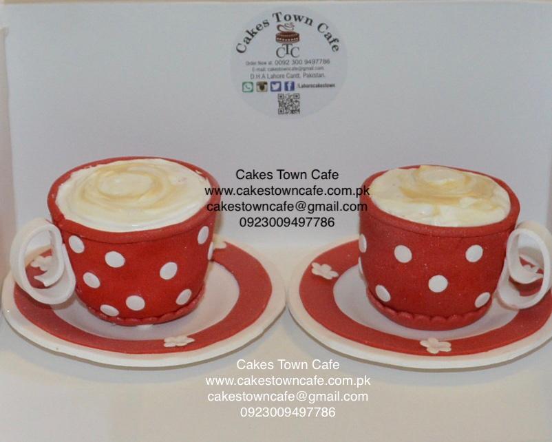 Cup & Saucer Cupcakes