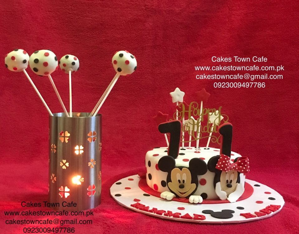 Mickey Mouse Cake 5