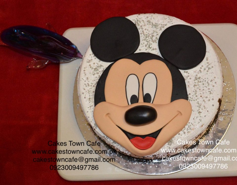 Mickey Mouse Cake 4