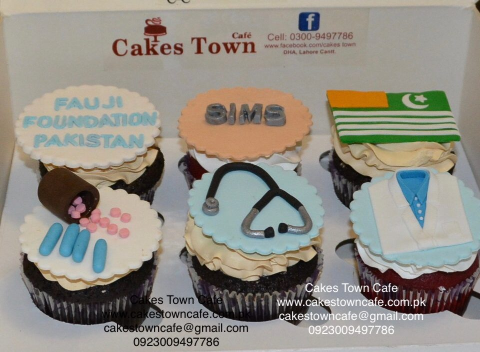 Doctors Themed Cupcakes