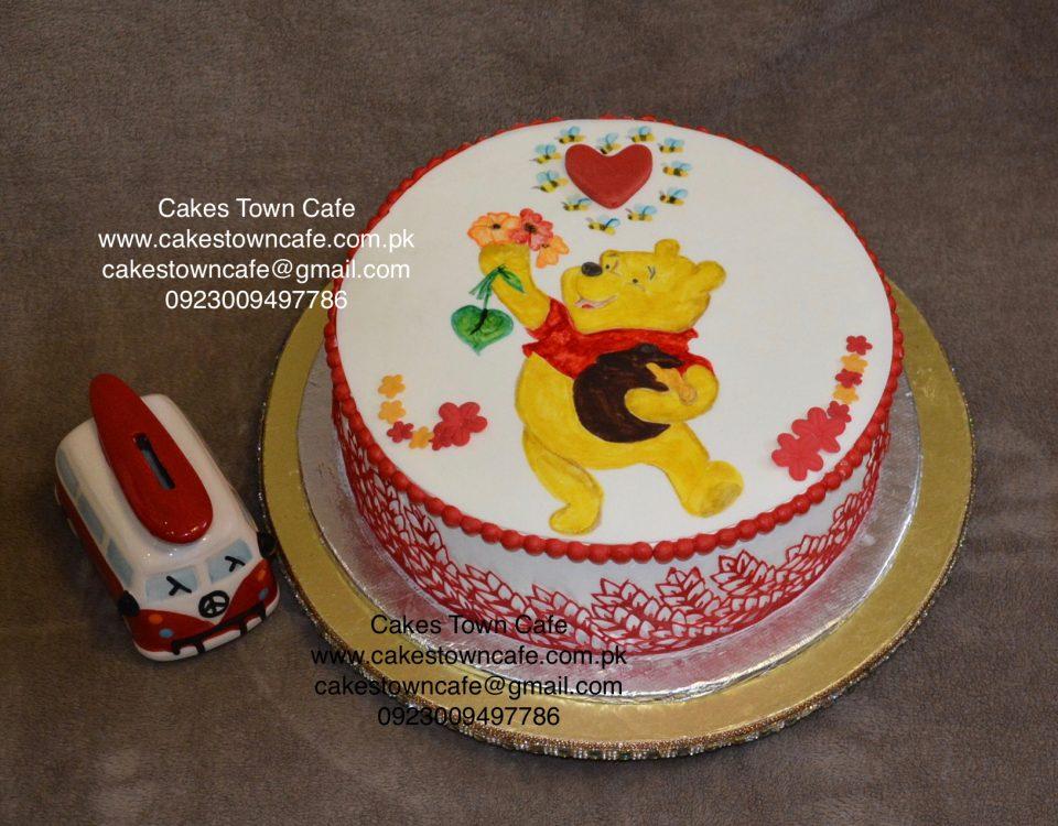 Hand Painted Cake 1